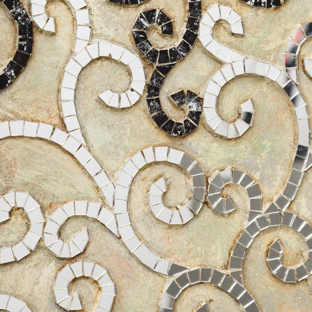 Murale parete alberi a mosaico pannelli arredo orientali for Parete a mosaico
