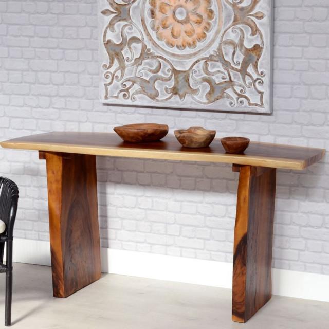 Consolle orientale legno suar etnico outlet mobili etnici for Muebles chinos outlet