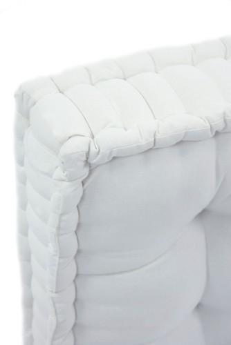Cuscini set materasso per pallet bancale ricambio bianco for Cuscini materasso