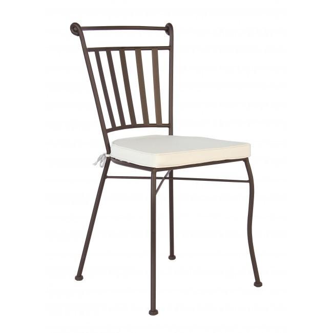 Sedie e panchine in ferro battuto - Etnico Outlet mobili etnici