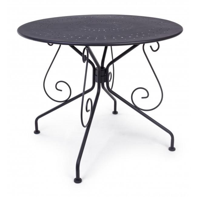 Tavolo tondo ferro battuto tavoli tondi giardino - Dimensioni tavolo tondo 4 persone ...