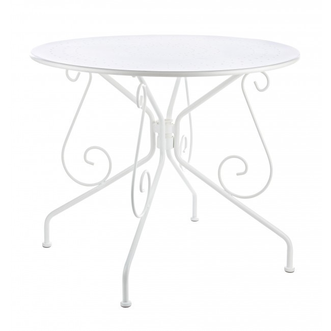 Tavolo ferro battuto bianco Tavoli bianchi provenzali