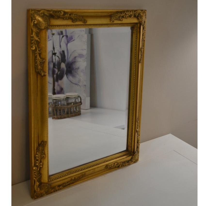 Specchio Etnico Dorato Specchiere Vintage Dec Chic Offerta