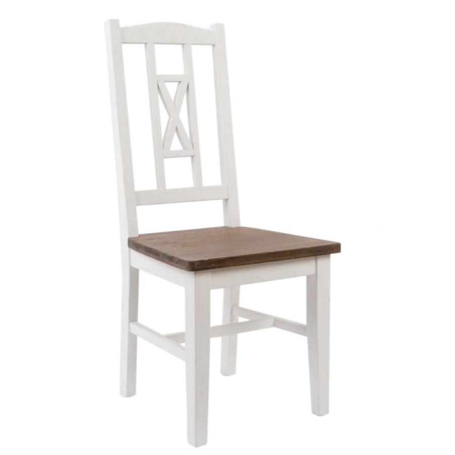 Sedia provenzale bianca sedie provenzali for Sedia a dondolo provenzale
