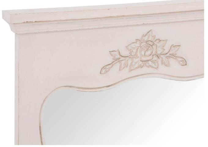 Specchio francese legno etnico outlet mobili etnici - Specchio romantico riflessi prezzo ...