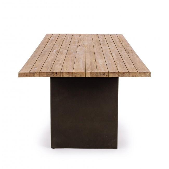 Tavolo etnico da giardino teak tavoli esterno etnici for Tavoli grancasa