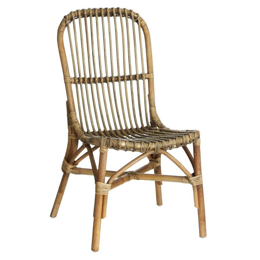 Sedia in rattan e bamboo sedie etniche - Sedia in rattan ...