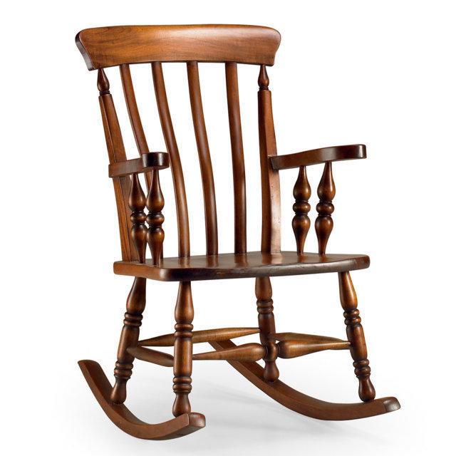 sedia dondolo classic vintage dondoli legno On sedia a dondolo vintage