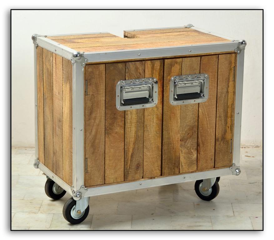 mobile bagno base lavabo industrial mobili etnici e. Black Bedroom Furniture Sets. Home Design Ideas