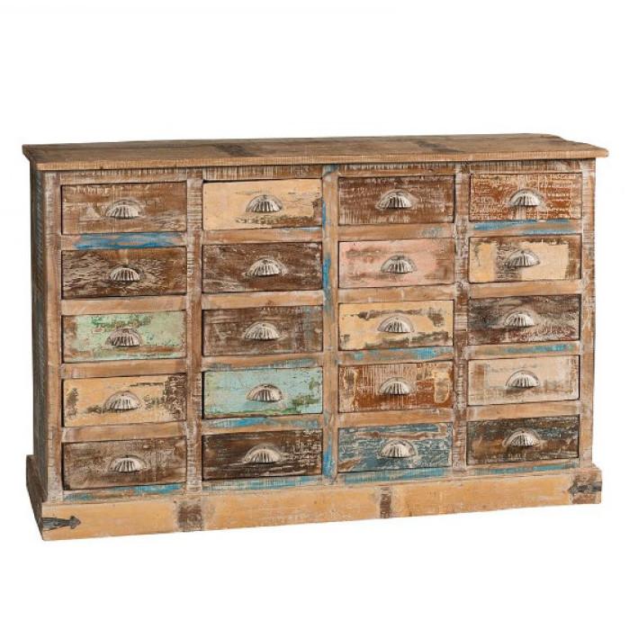 Estremamente Cassettiera vintage legno riciclato Mobili vintage KQ62
