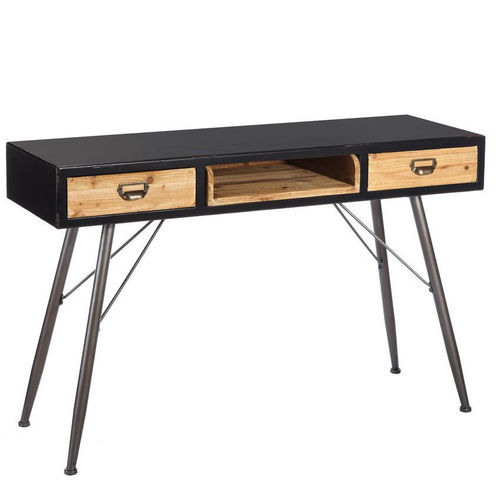 Consolle industrial chic legno abete
