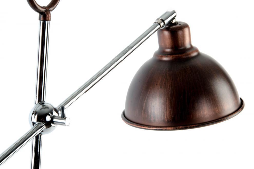 Lampada Vintage Da Terra : Lampada da terra vintage bronzo stile industriale online