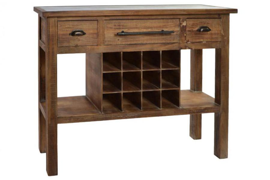 Credenza Con Cantinetta : Consolle industrial legno con cantinetta mobili stile industriale
