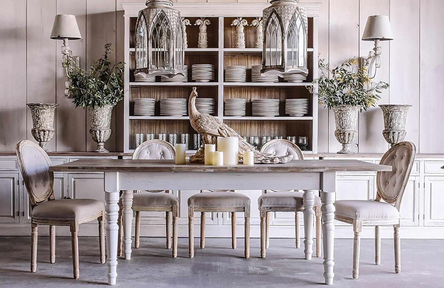 buffet credenza bianco shabby chic mobili provenzali bianchi. Black Bedroom Furniture Sets. Home Design Ideas