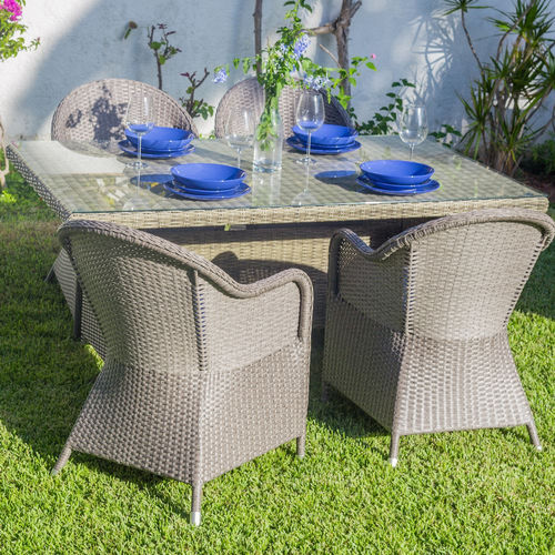 Set tavoli e sedie etniche industrial shabby provenzali for Giardino orientale