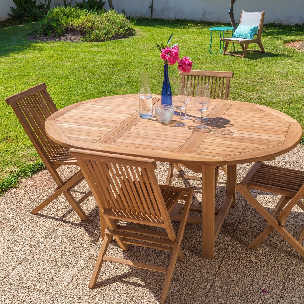 Tavolo da giardino allungabile teak - Tavoli e sedie da ...