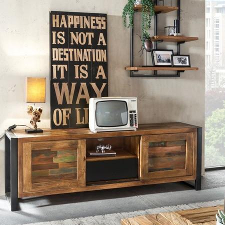 Mobili Tv Design Outlet.Mobile Porta Tv Industrial