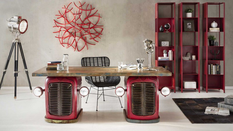 Mobili industrial e mobili vintage e on line sconti fino for Sconti arredamento