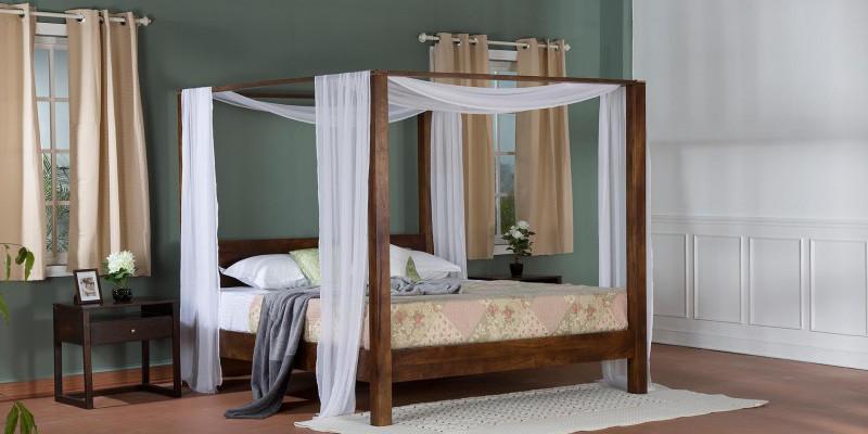 Letti baldacchino camere letto vintage e industrial etnico for Letti vendita on line