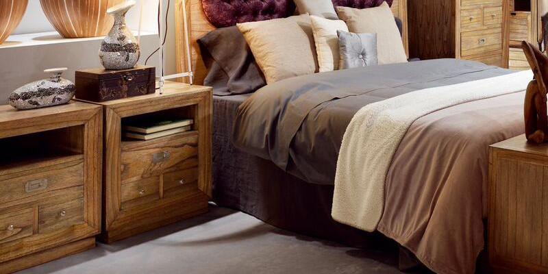 COMODINI ETNICI in legno Vintage e Industrial Sconti solo OnLine