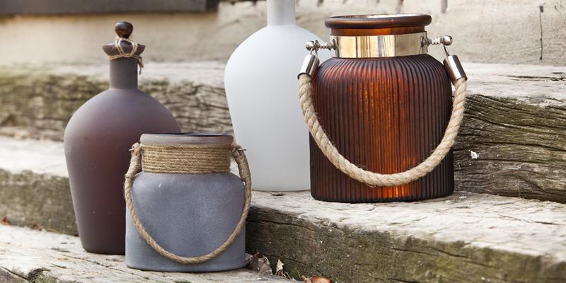 Lanterne etniche provenzali shabby chic vintage industrial - Lanterne da interno ...
