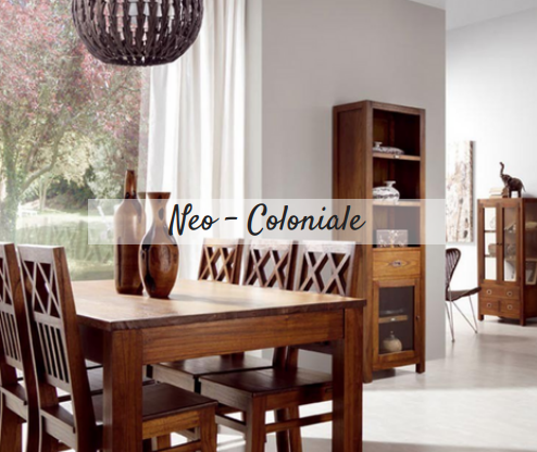Etnico outlet mobili etnici provenzali shabby chic online for Arredo coloniale