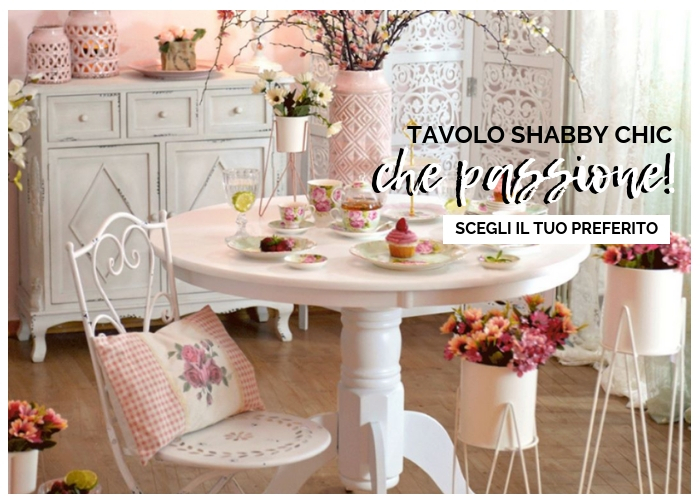 Etnico outlet mobili etnici provenzali shabby chic online for Tavoli on line