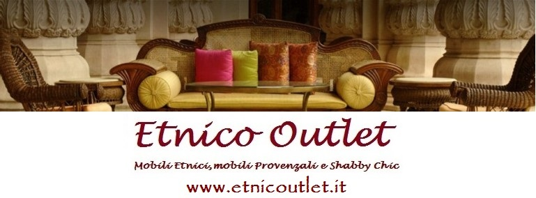 Ebay outlet mobili etnici for Arredamento etnico on line