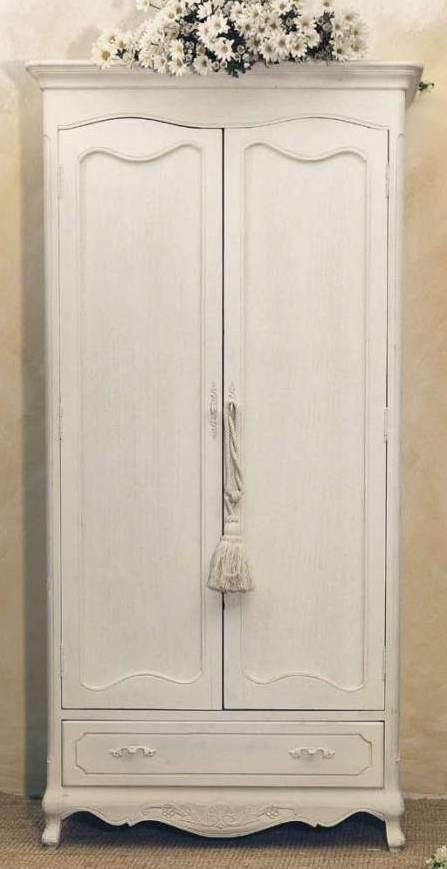 Armadio bianco provenzale etnico outlet mobili etnici for Armadi per piccoli spazi