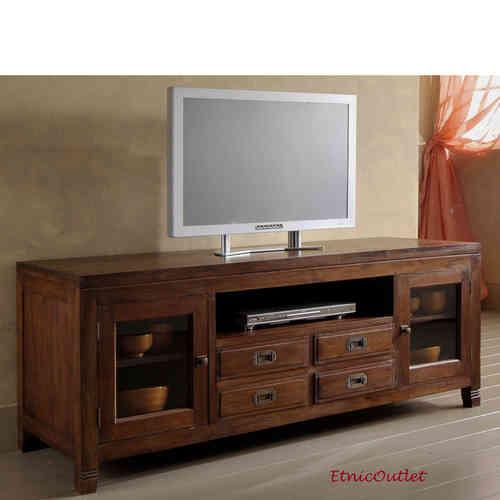 Porta tv etnici mobili vendita on line etnico outlet for Mobili etnici usati