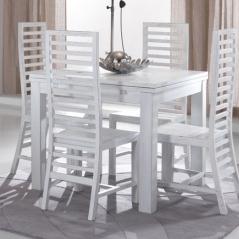 Tavolo Bianco 80x80 Allungabile.Tavoli Provenzali E Shabby Chic Nuovi Arrivi E Nuove Proposte