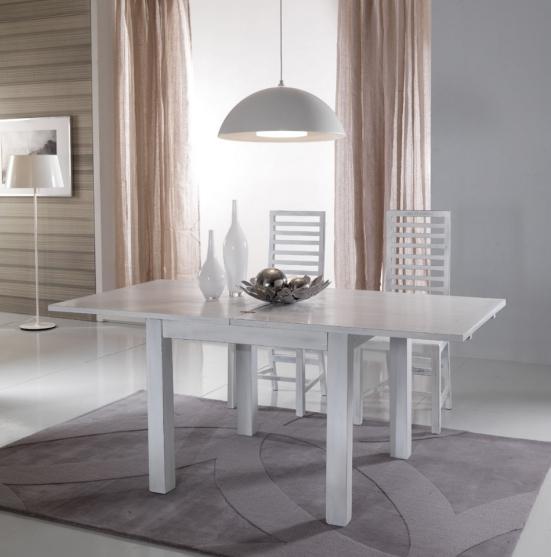 Sedia bianca shabby teak etnico outlet mobili etnici - Tavolo e sedie shabby ...