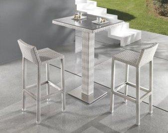 Tavolo Bar Bianco.Tavolo Bar Bianco Per Giardino