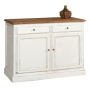 Buffet provenzale bianco shabby