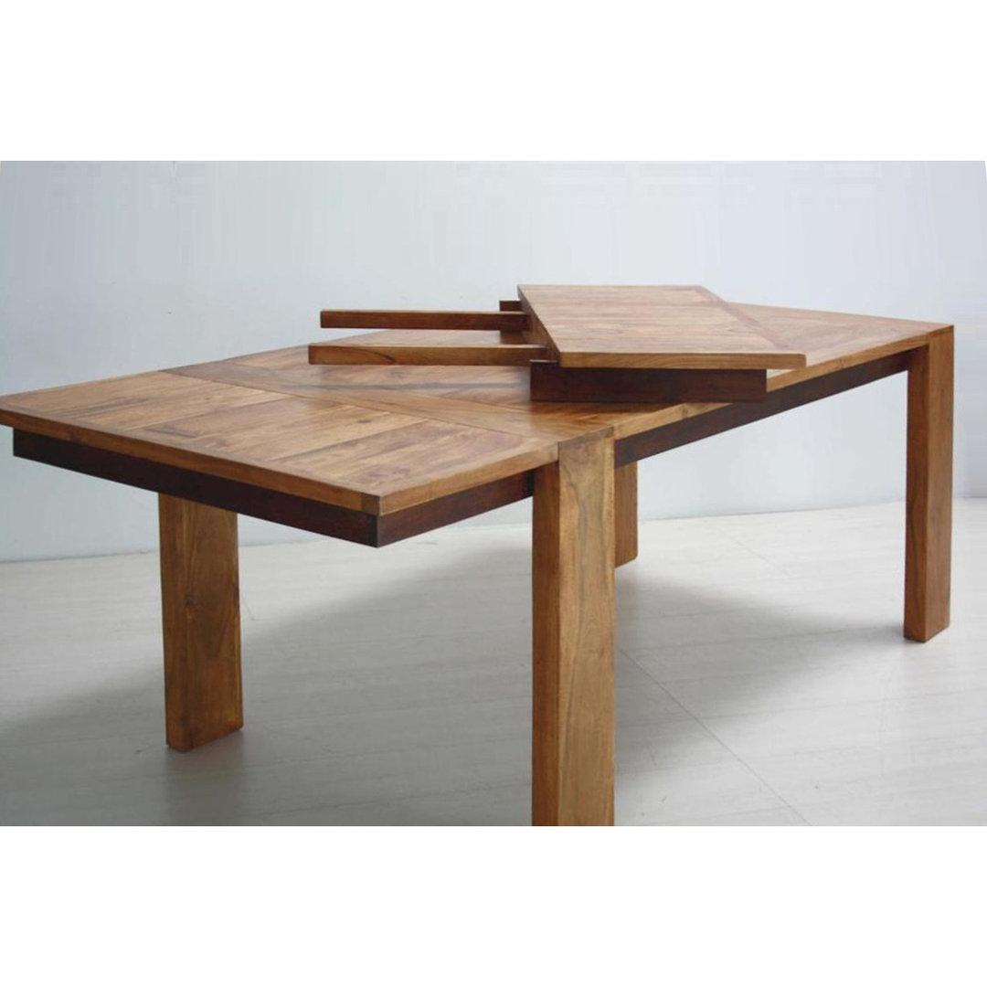 Tavolo coloniale legno naturale tavoli pranzo coloniali - Tavolo legno naturale ...
