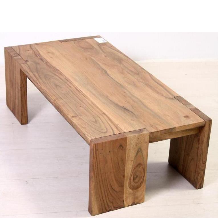 Tavolo etnico legno naturale Tavolini etnici