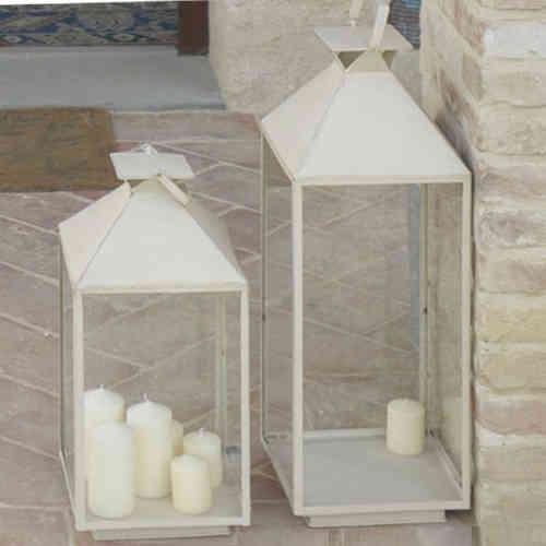 Lanterne Bianche Da Esterno.Lanterne Portacandele Ferro Battuto Etniche Provenzali Orientali
