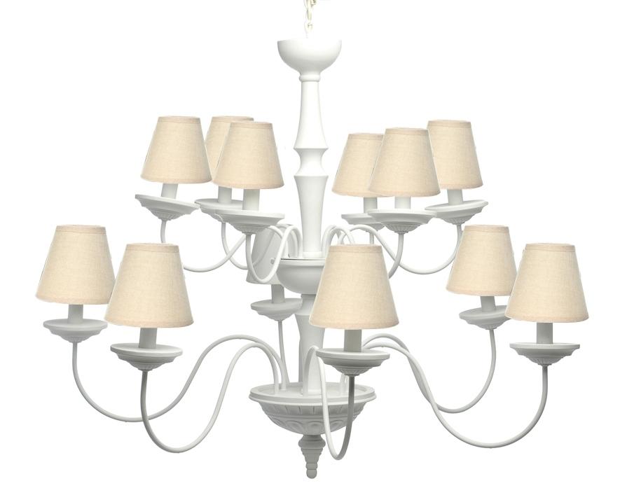 Lampadario Bianco Legno : Lampadario maxi in legno bianco lampade saloni e sale chic
