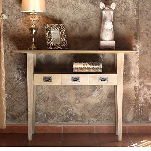 Consolle scrivania country chic mobili rustici online for Consolle scrivania
