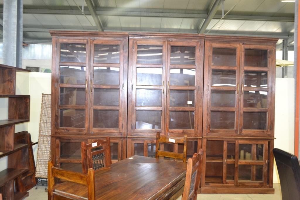 Libreria maxi legno massello etnica librerie etniche online for Librerie design outlet