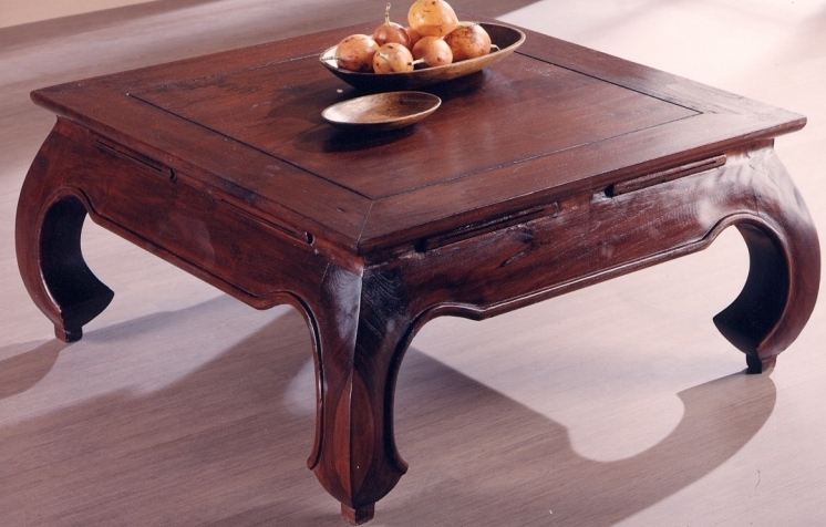 Tavolino Etnico Basso.Tavolino Etnico Opium 100x100