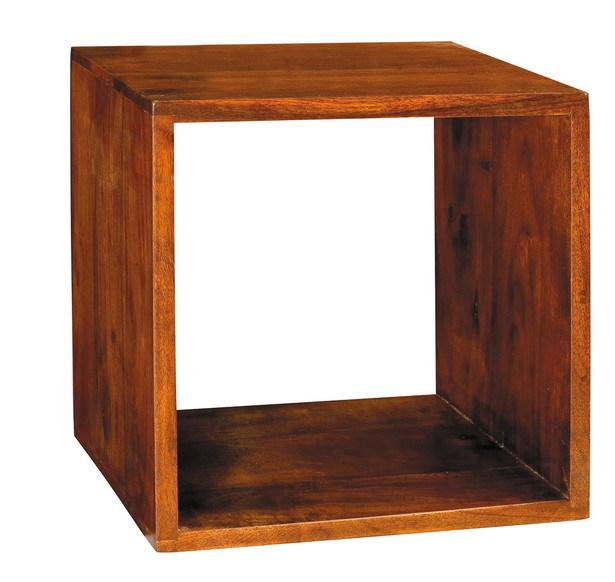 Cubo per libreria etnica componibile etnico outlet mobili for Libreria cubi componibile