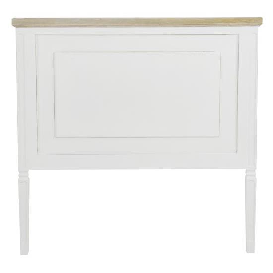 Testata letto bianca shabby testate letto legno bianche - Testate letto shabby ...