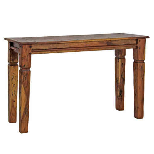 Consolle country legno massello