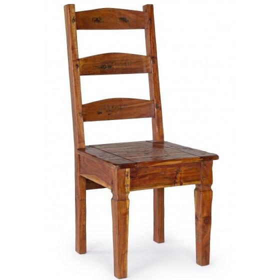 Sedia country legno massello