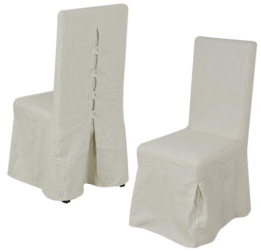 RIVESTIMENTO per sedia lino 100%