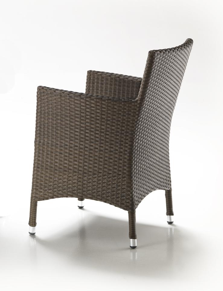 GIARDINO Rattan sintetico o PolyRattan Set completi tavoli con sedie ...