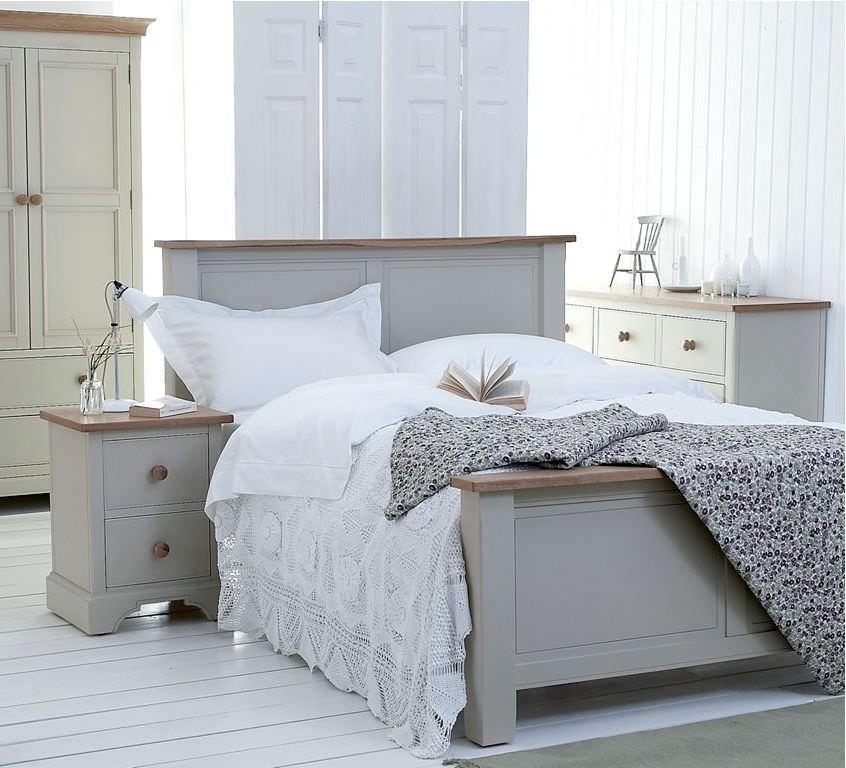 Letto shabby legno bianco Camere da letto shabby chic vintage