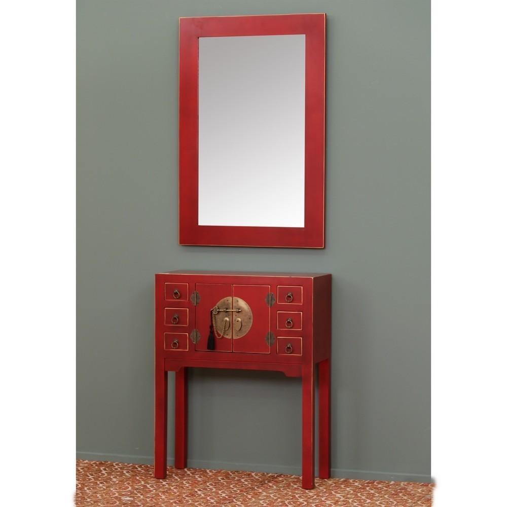 Mobiletto ingresso cinese rosso mobili etnici orientali for Mobiletto ingresso ikea