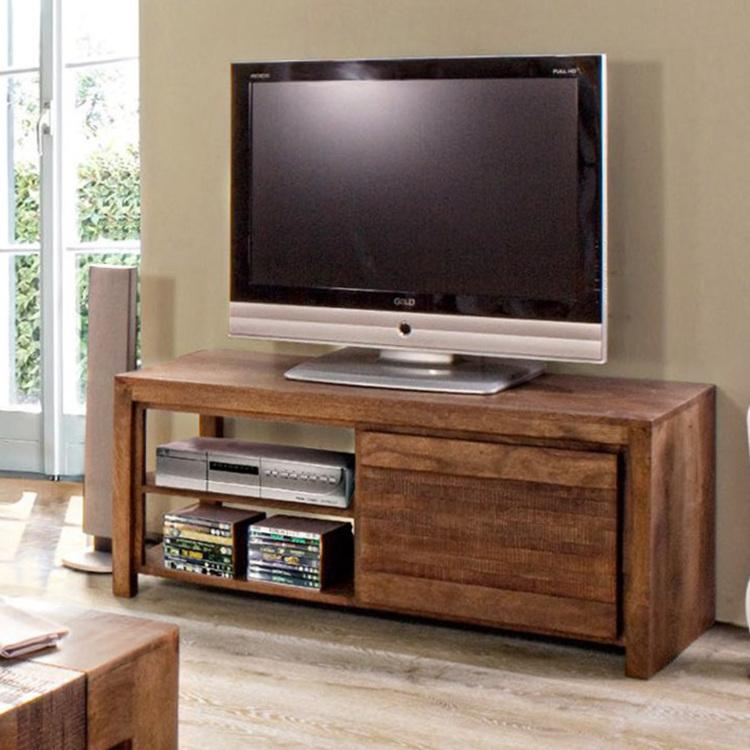 Mobile porta tv in legno di mango mobili etnici online for Mobili outlet online